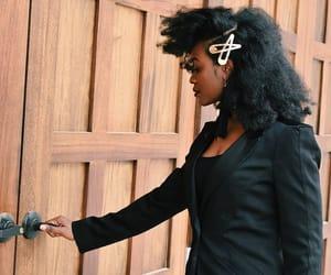 black women, brown skin, and natural hair image
