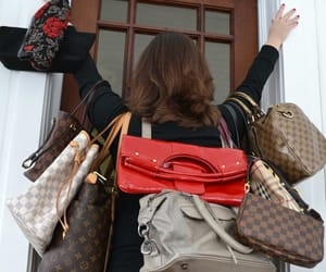 addiction, fashion, and purses image