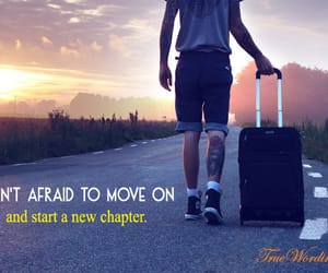 inspirational quotes, keep moving, and move on quotes image