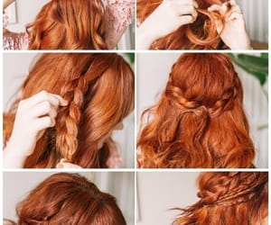 tutorial and hairtstyle image