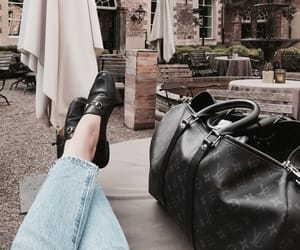 bag, travel, and vogue image
