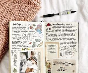 agenda, art, and book image