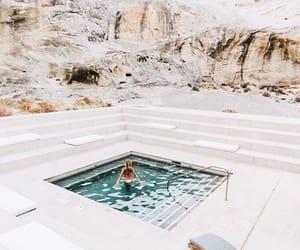 pool, travel, and luxury image