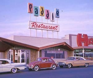90s, red, and restaurant image