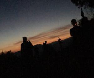 adventure, cigarette, and night image
