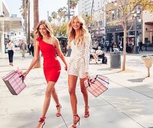 dress, josephine skriver, and bff goals image