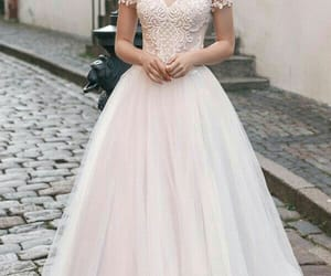 wedding dress and fashion image