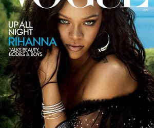 rihanna, vogue, and beauty image