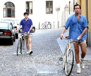 call me by your name, bike, and italy image