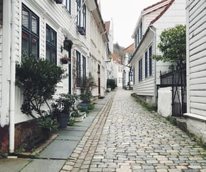 beautiful, oldhouse, and bergen image