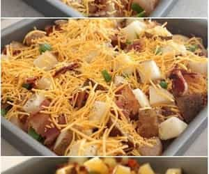 baked, casserole, and Chicken image