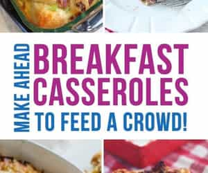 breakfast, casserole, and recipes image