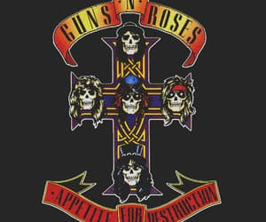 Guns N Roses, rock, and music image