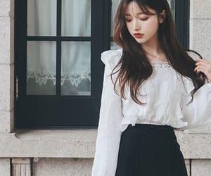 beautiful, korean, and model image