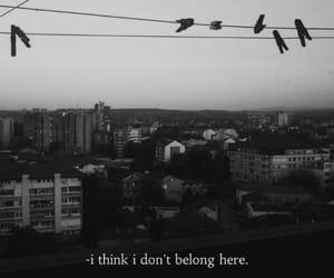 city and sad image