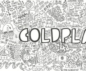 coldplay, music, and black and white image