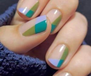 belleza, nail, and moda image