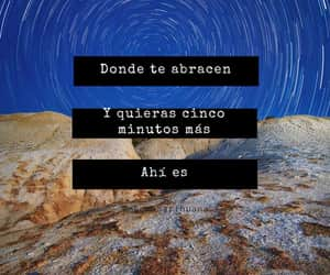 love, abrazo, and frases image