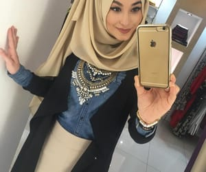 hijab, style, and modesty image
