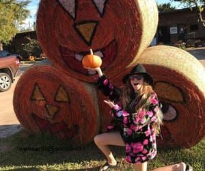 autumn, girl, and youtube image