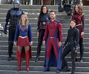 DC, chyler leigh, and Supergirl image
