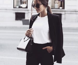 article, black jeans, and coats image
