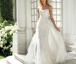 fashion, model, and wedding image