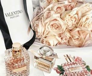 Valentino, flowers, and perfume image