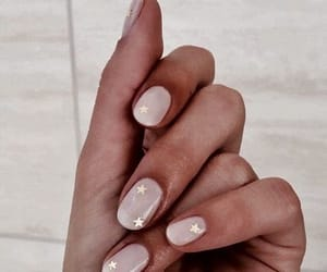 nails, stars, and nail polish image