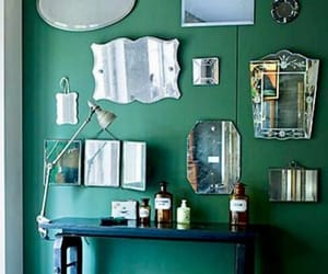 green, home decor, and interior decorating image