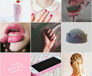 aesthetic, good girl, and pink image