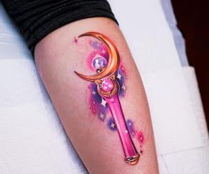 art, sailor moon, and tatouage image