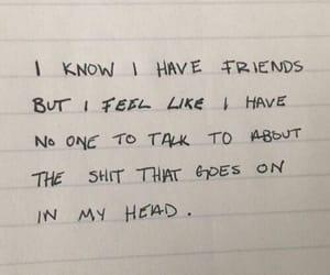 alone, Lyrics, and quote image