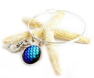 charm bracelet, bangle bracelet, and etsy image