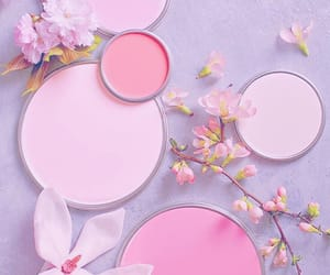 aesthetic, paint, and petals image