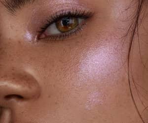 beauty, glow, and makeup image