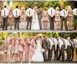 brides, familly, and flowers image