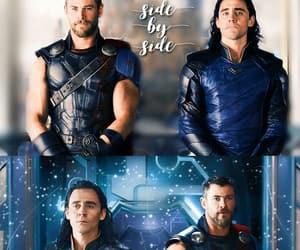 Marvel, thor, and loki image