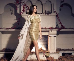 dress, sparkle, and white image