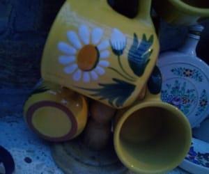 aesthetic, mug, and flower image