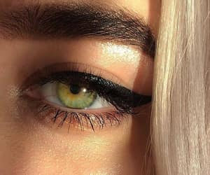 beauty, blonde, and eye image