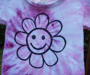 etsy, flower, and smiley image