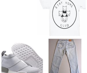 addidas, gray, and white image