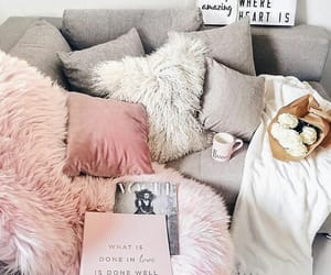 home, cozy, and pink image