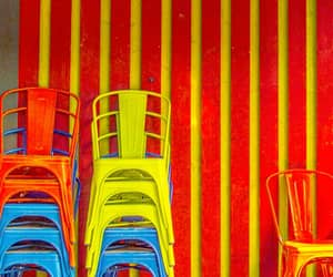 chairs, primary, and colors image