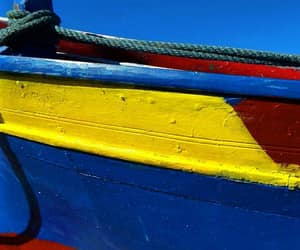 boat, colors, and primary image