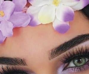 brunette, california girl, and flower headband image