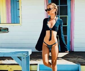 beauty, bikini, and coast image