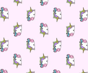 pink, unicornios, and patternator image