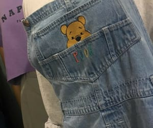 90s, bear, and clothing image